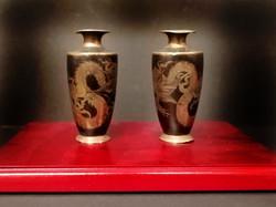 Antique Japanese Incense vases