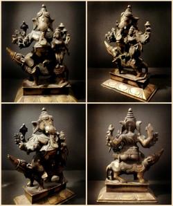 Antique Bronze Deities