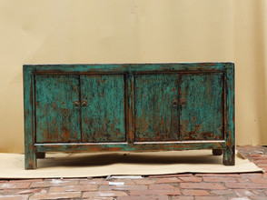 Hand painted Chinese antique cabinet
