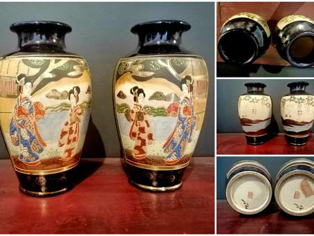 Splendid Oriental Vases