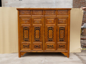 Antique Chinese decorative sideboard