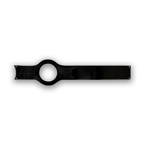 Corbata de Tanque Negra Moto Guzzi