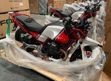 La Moto Guzzi V85 TT llegó a la Argentina