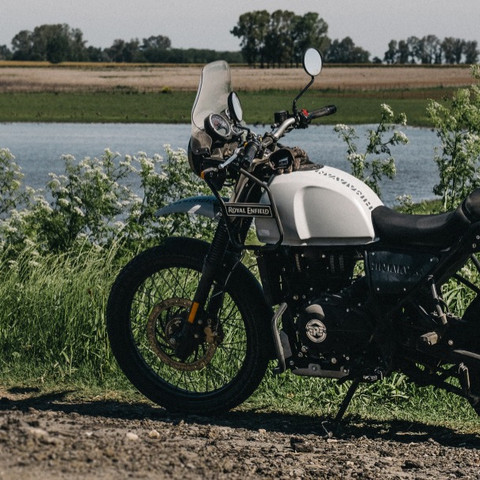 Royal Enfield Himalayan Snow White