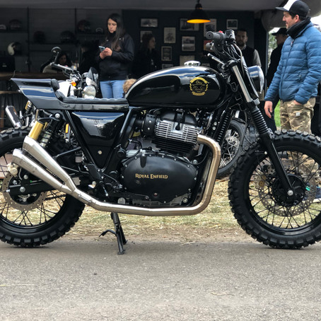 Royal Enfield Vicente López y Low Life Motorcycles Sortean una Interceptor 650 Customizada