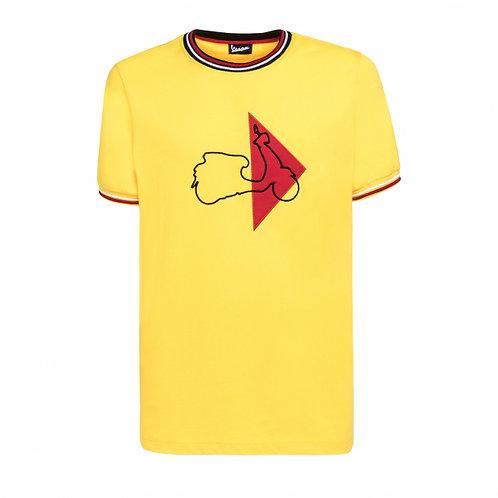 Remera Vespa Amarilla