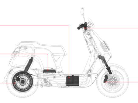 Anatomía de una Nuuv: tu próximo scooter de adentro hacia afuera.