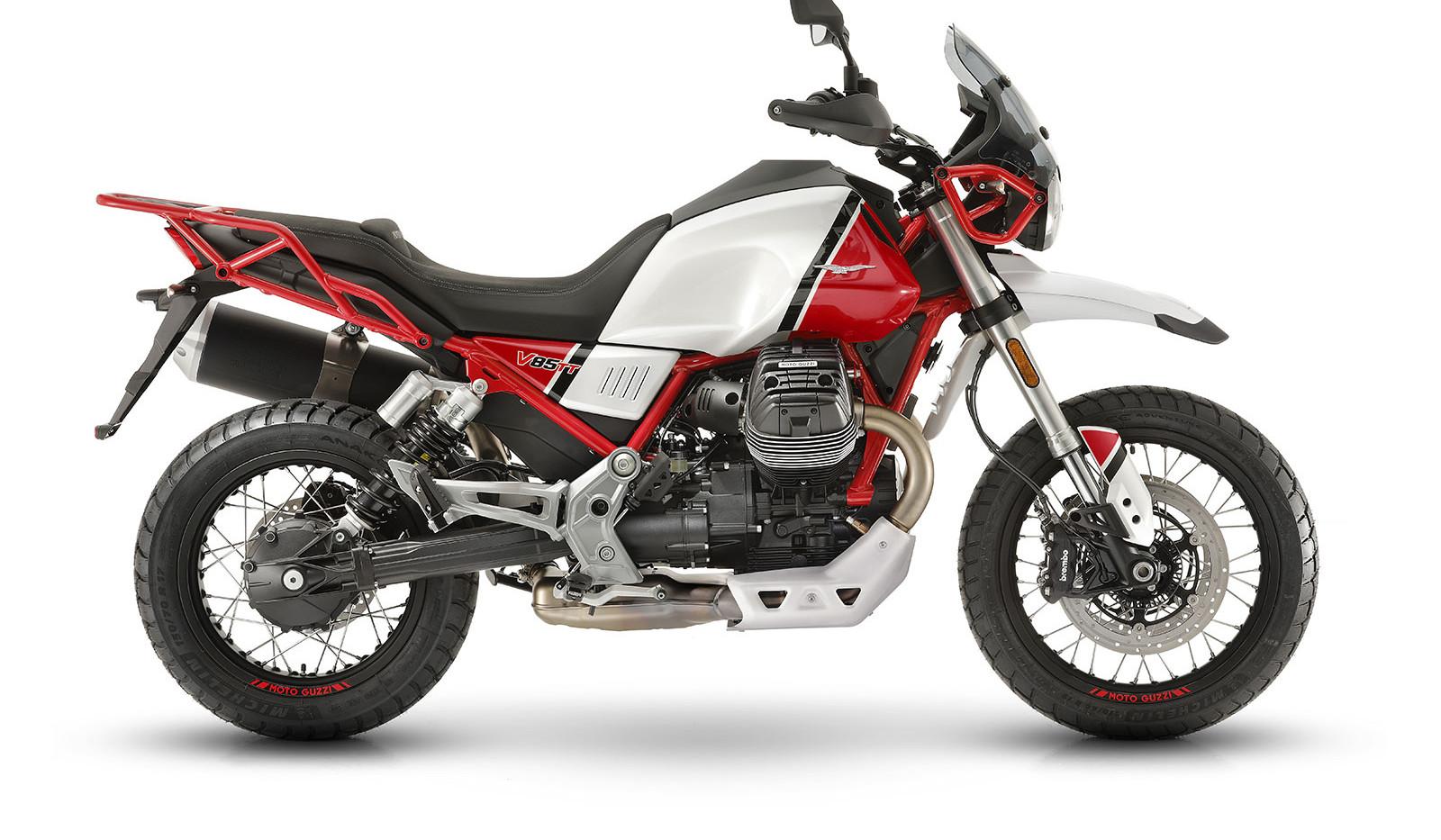 Moto Guzzi V85 TT Roja