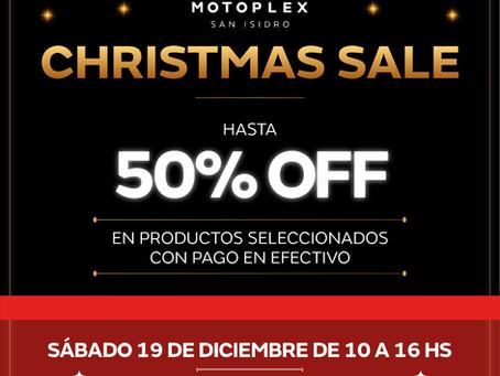 Christmas Sale: un día de descuentos en accesorios & induemntaria