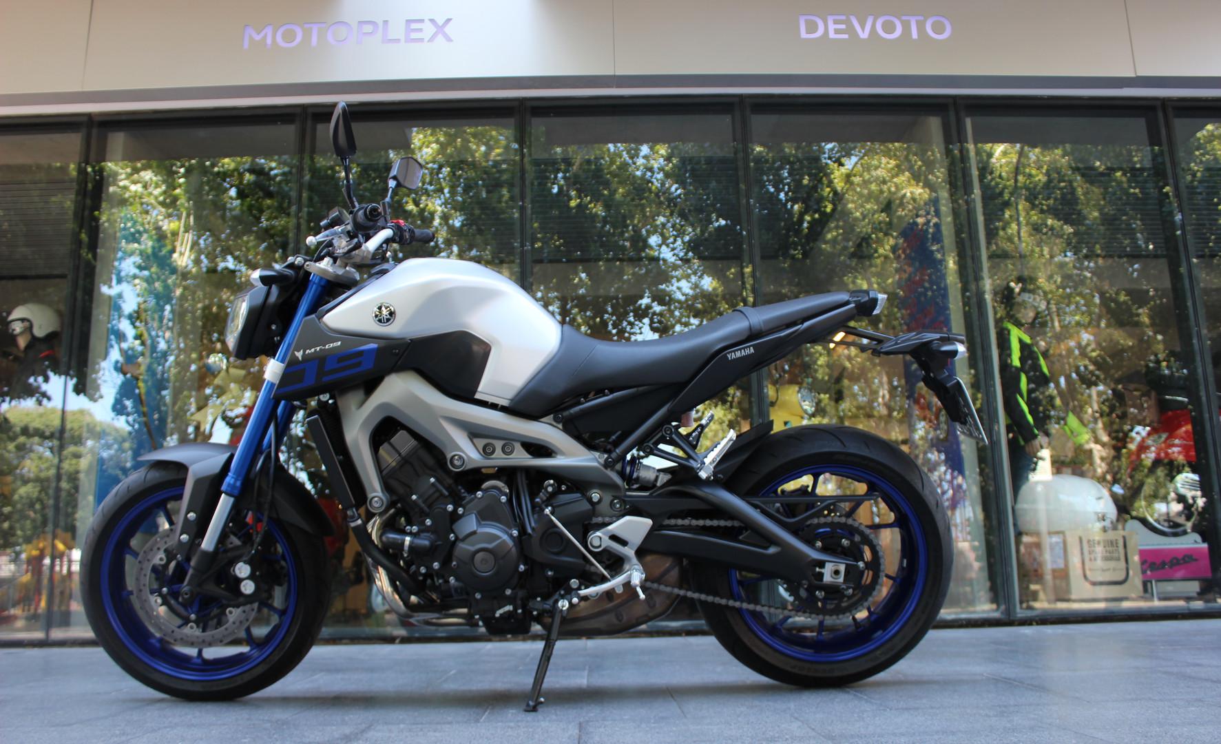 Usados seleccionados Motoplex Devoto Yamaha MT 09