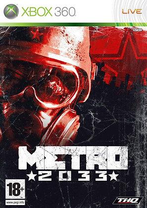 METRO 2033 - JUEGO - XBOX360 / XBOX ONE / XBOX SERIES X