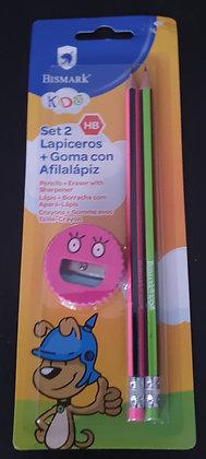 SET LÁPICES + AFILADOR REF. 051