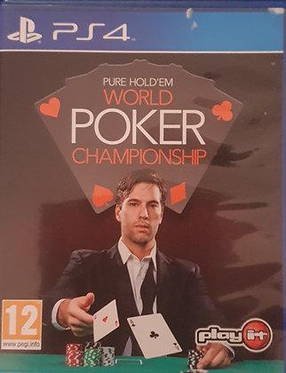 WORLD POKER CHAMPIONSHIP - JUEGO - PS4/PS5