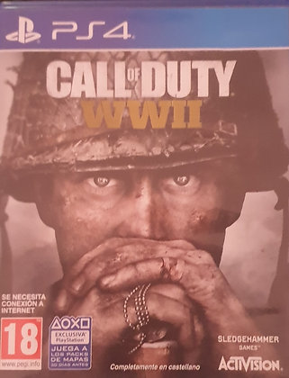 CALL OF DUTY WW2 - JUEGO - PS4/PS5