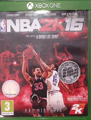 NBA 2K16 - JUEGO - XBOX ONE