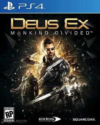 DEUS EX - JUEGO - PS4 / PS5