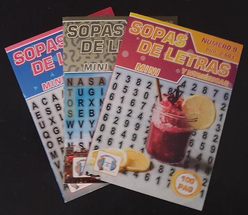 SOPAS DE LETRAS MINI REF. 55