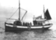 Standheim på sildefiske i 1952