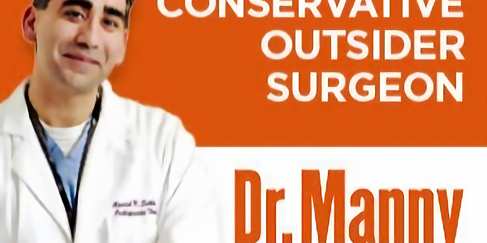 1ST TUESDAY welcomes Senate Candidate, Dr. Manny Sethi on September 20th!