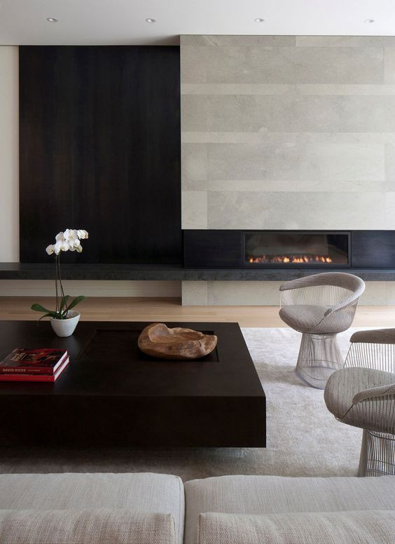 fireplace ideas modern