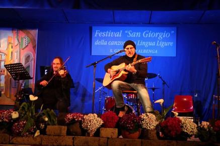 Canti poetici al Festival della canzone Ligure S Giorgio