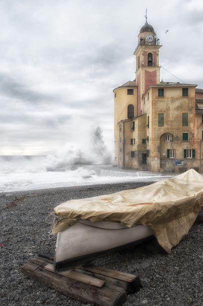 """Gozzo e chiesa fusione di mare """"Eterno"""""""