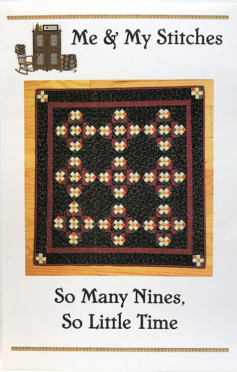 So Many Nines, So Little Time - Pattern Download