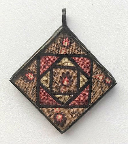 "1 1/4"" Stained Glass Pendant"