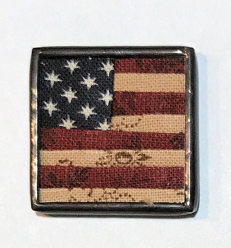 "1"" U.S. Flag Needle Minder"