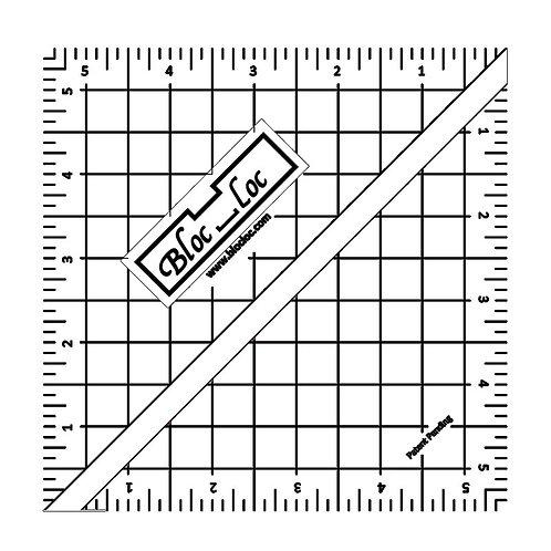 """Ruler - 5 1/2"""" Bloc Loc"""