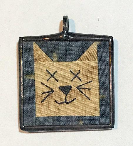 """1 1/4"""" Cat Pendant"""