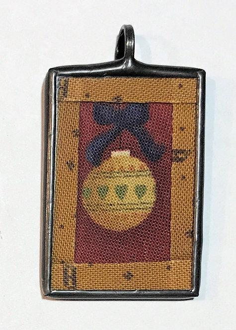 "1"" x 1 1/2"" Ornament Pendant"