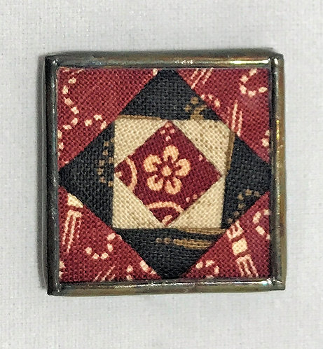 "1"" Square in a Square Needle Minder"