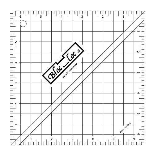 """Ruler - 6 1/2"""" Bloc Loc"""