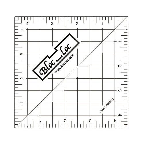 """Ruler - 4 1/2"""" Bloc Loc"""