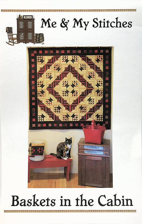 Baskets in the Cabin - Pattern Download