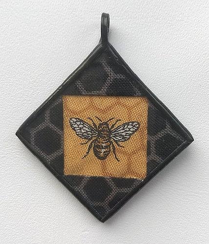 """1 1/4"""" Bee Pendant"""
