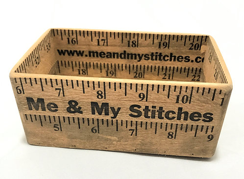 "Ruler Box - 3"" x 5"", Two Tall"