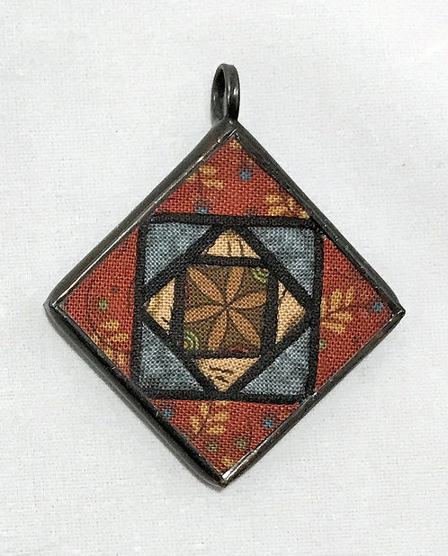 """1 1/2"""" Stained Glass Pendant"""