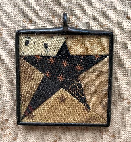 "1 1/2"" Primitive Star Pendant"