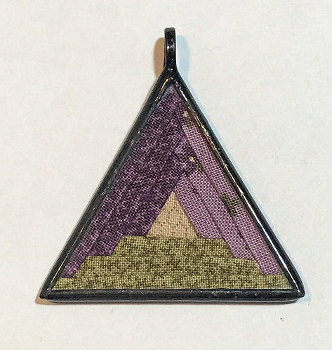 "1 1/2"" Triangle Pendant"
