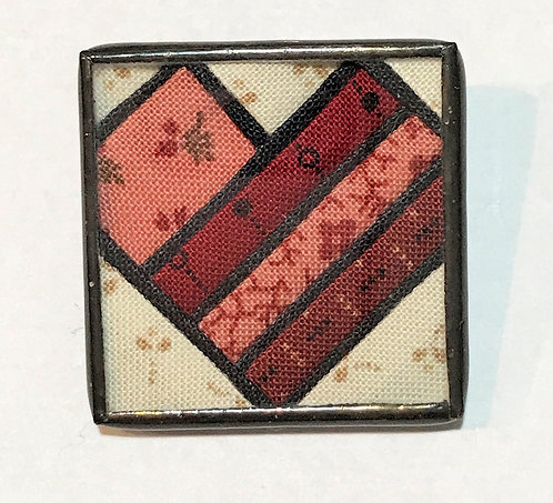 """1 1/4"""" Stained Glass Pin"""