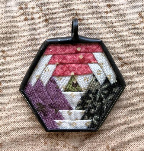 """1 1/2"""" Hexagon Pendant"""