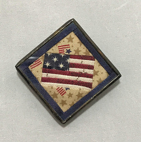 "1 1/4"" U.S. Flag Pin"
