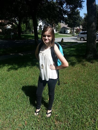 Halle 1st day 9th grade