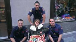 Halle Firefighter