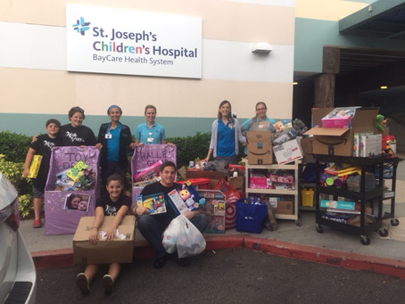 Halle's 17th Birthday Toy Drive Success