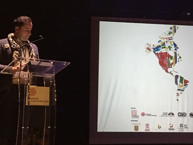 Bruno Marques, keynote speaker at the IFLA Americas Regional Conference 2018, Mexico