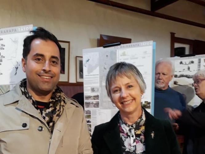 Ko Wairarapa Tātou exhibition opening, Featherston May 17, 2019