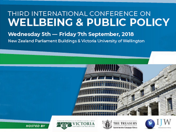 The Research Team represented at the Wellbeing and Public Policy Conference